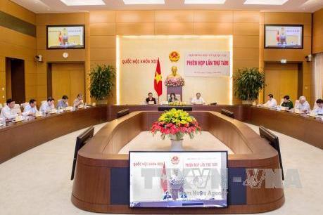 Phiên họp thứ tám của Hội đồng bầu cử quốc gia