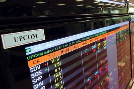 Giá trị giao dịch UPCoM tăng 192% sau khi nới biên độ dao động giá