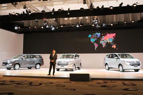 Ra mắt Toyota Innova hoàn toàn mới đắt hơn 130 triệu đồng