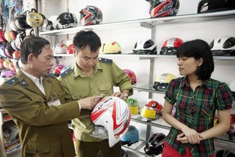 Điều kiện sản xuất mũ bảo hiểm