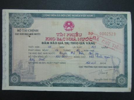 Hướng dẫn mới về phát hành tín phiếu kho bạc