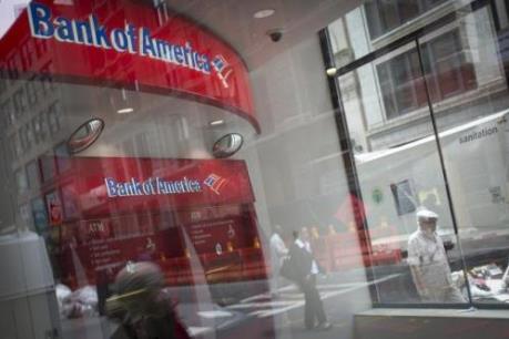 Bank of America báo cáo lợi nhuận giảm mạnh trong quý II/2016