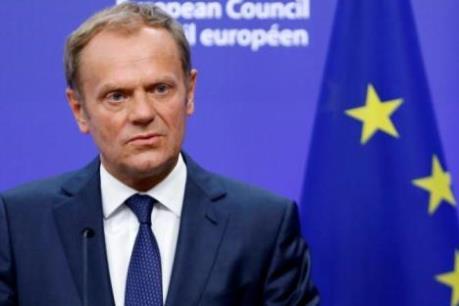 Chủ tịch Hội đồng châu Âu Donald Tusk: EU không thể làm ngơ trước bài học Brexit
