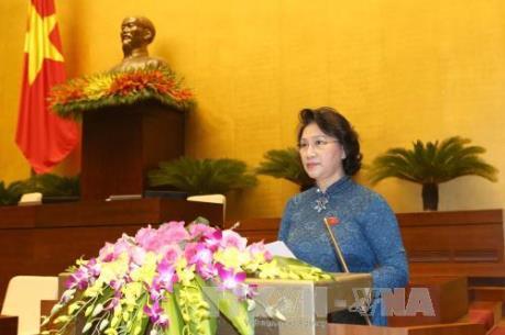 Kỳ họp thứ nhất, Quốc hội khóa XIV: Trình số lượng Ủy viên Ủy ban Thường vụ Quốc hội