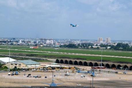 Hoàn thành việc sửa chữa đường cất hạ cánh tại CHKQT Tân Sơn Nhất