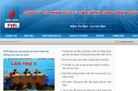 Khởi tố nguyên Phó Giám đốc PVFI Chi nhánh TP. Hồ Chí Minh