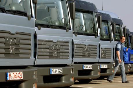 """Các nhà sản xuất xe tải hàng đầu châu Âu """"gặp hạn"""""""