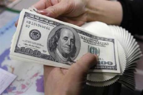 Tỷ giá trung tâm ngày 30/9 tăng 9 đồng