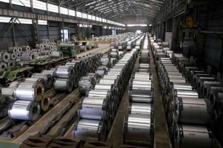 Sản lượng thép thế giới giảm 1,9% trong nửa đầu năm 2016