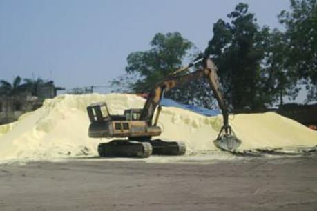 Phú Thọ: Tập kết, vận chuyển lưu huỳnh gây ô nhiễm môi trường