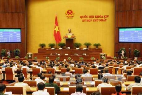 Kỳ họp thứ nhất, Quốc hội khóa XIV: Kiện toàn nhân sự lãnh đạo một số cơ quan của Quốc hội