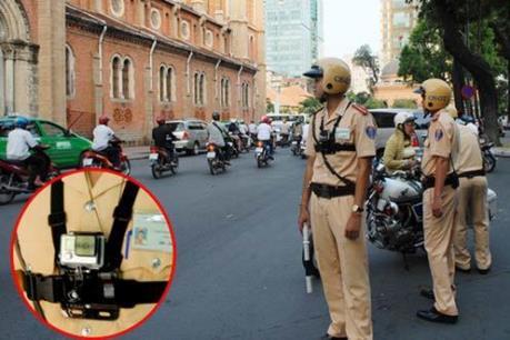 Cảnh sát 141 được trang bị camera giám sát chuyên dụng