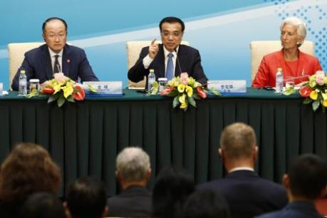 Thủ tướng Trung Quốc kêu gọi hợp tác chính sách kinh tế
