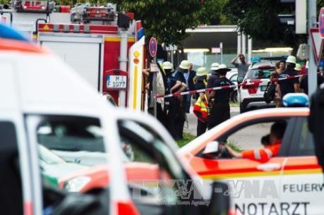 Vụ xả súng tại Đức: Cảnh sát phong tỏa trung tâm mua sắm Olympia