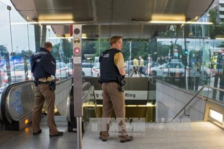 Vụ xả súng tại Đức: Có 3 đối tượng tham gia