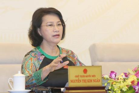 Chủ tịch Quốc hội Nguyễn Thị Kim Ngân thông tin về hoạt động của Quốc hội khóa XIV