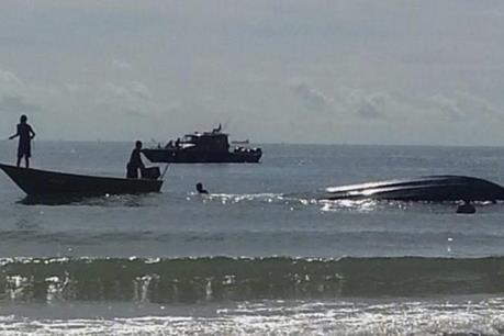 Lật thuyền ở Malaysia, nhiều người thiệt mạng và mất tích