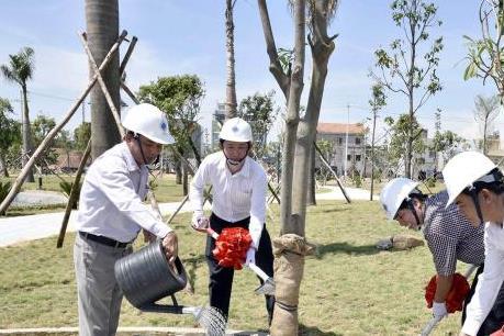 Trên 1.200 tỷ đồng xây dựng Khu đô thị VSIP Quảng Ngãi