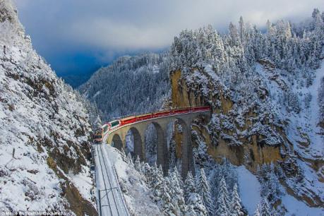Thêm tuyến đường sắt xuyên núi Alpes nối Pháp - Italy