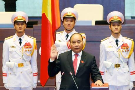 Ông Nguyễn Xuân Phúc trúng cử chức vụ Thủ tướng Chính phủ