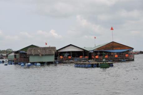 Bà Rịa-Vũng Tàu: Các nhà hàng nổi trên sông đều không có giấy phép kinh doanh ăn uống