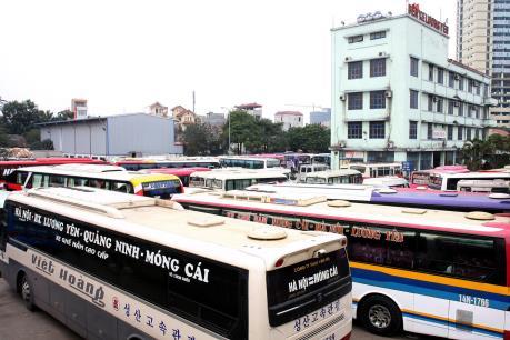 Đóng cửa bến Lương Yên: 36/52 doanh nghiệp vận tải đã ký hợp đồng hoạt động tại bến mới