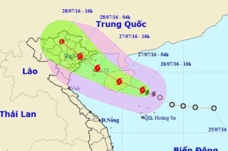 Dự báo thời tiết: Khẩn trương chuẩn bị phương án ứng phó với bão số 1 (MIRINAE)