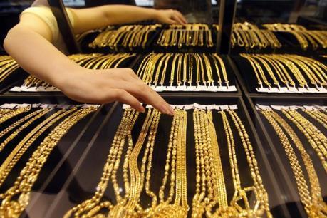 Giá vàng thế giới ngày 2/8 lập đỉnh của bốn tuần