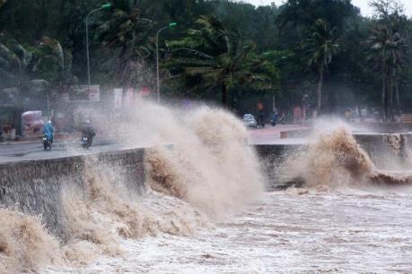 Cảnh báo: Áp thấp nhiệt đới có khả năng mạnh lên thành bão và hướng về phía Biển Đông