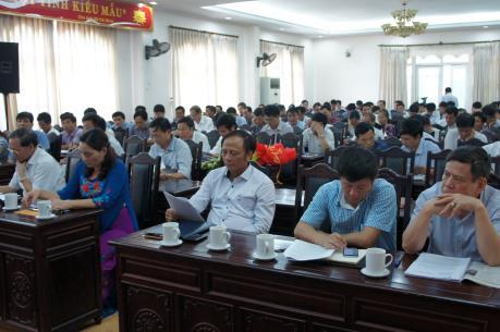 Kiểm tra việc bổ nhiệm PGĐ Sở Nông nghiệp và Phát triển nông thôn tỉnh Thanh Hóa