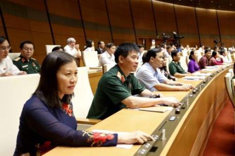 Quốc hội thông qua Nghị quyết điều chỉnh quyết toán NSNN 2014