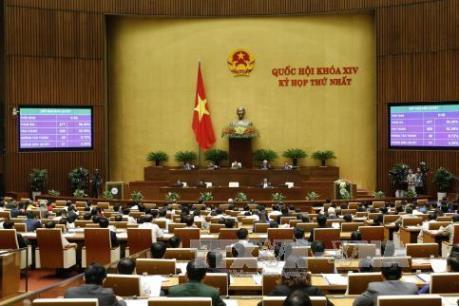 Kỳ họp thứ nhất, Quốc hội khóa XIV: Bảo đảm phát triển bền vững, ổn định đời sống nhân dân