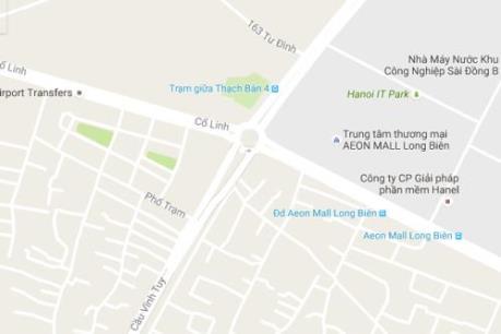 Hà Nội xây dựng cầu vượt nút giao đường Cổ Linh-cầu Vĩnh Tuy