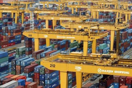 Xuất khẩu của Hàn Quốc giảm trong khoảng thời gian dài kỷ lục