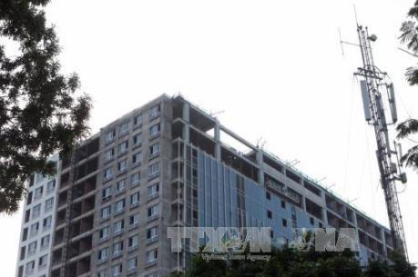Hà Nội cưỡng chế phá dỡ tầng 19 tòa nhà 8B Lê Trực trong tháng 8