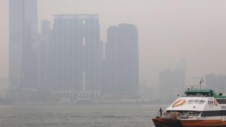 Đặc khu Hong Kong (Trung Quốc) ngưng hoạt động do bão Nida