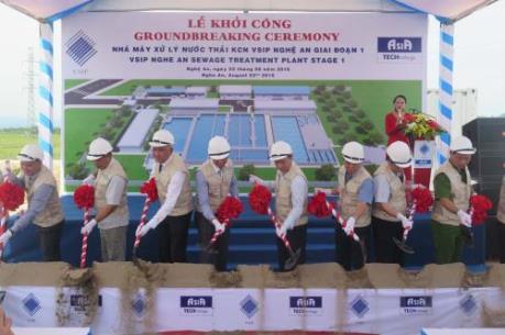 VSIP Nghệ An đầu tư Nhà máy xử lý nước thải