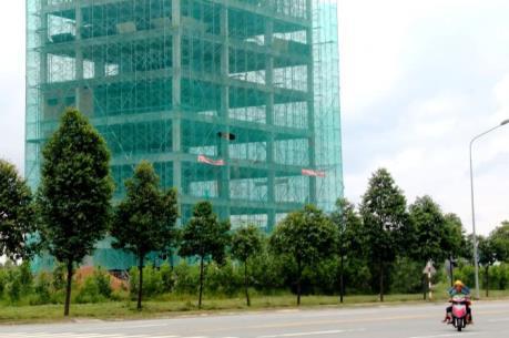 Bình Dương tạm ngừng thi công tòa nhà 8 tầng vốn đầu tư Hàn Quốc
