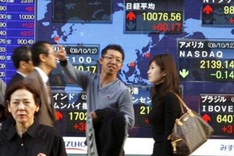Chứng khoán châu Á ngày 3/8 tiếp tục giảm điểm