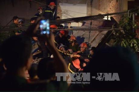 Vụ sập nhà tại phố cổ Hà Nội: Xác định danh tính nạn nhân tử vong