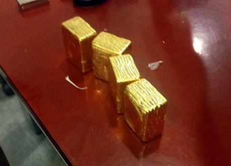 Phát hiện người nước ngoài xuất lậu 5kg vàng qua đường hàng không