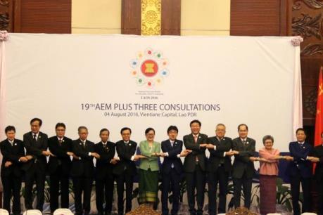 Quan hệ thương mại ASEAN + 3 đang phát triển bền vững