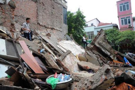 Vụ sập nhà tại phố cổ: Nếu đủ chứng cứ sẽ khởi tố vụ án