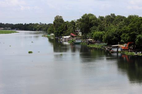 Xả thải ra sông Vàm Cỏ Đông, doanh nghiệp bị phạt trên 150 triệu đồng