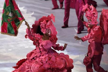 OLYMPIC 2016: Rực rỡ sắc màu đêm khai hội đầu tiên tại Nam Mỹ