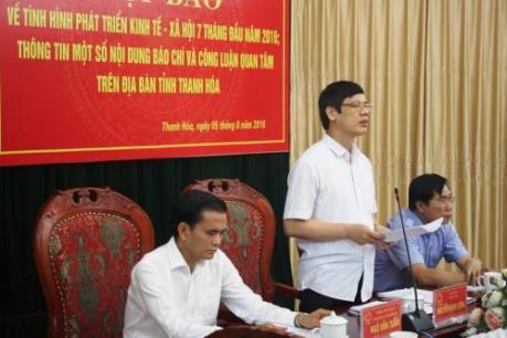 Thanh Hóa: Yêu cầu kiểm điểm trách nhiệm đối với Chủ tịch Hiệp hội Doanh nghiệp tỉnh