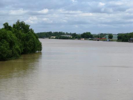 Biến đổi khí hậu: sông Ba Lai ngọt hóa thành…mặn!