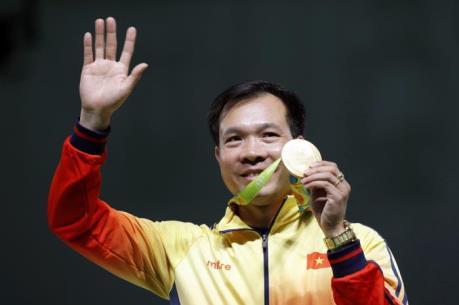 Hoàng Xuân Vinh dẫn đầu cuộc bầu chọn vận động viên tiêu biểu năm 2016