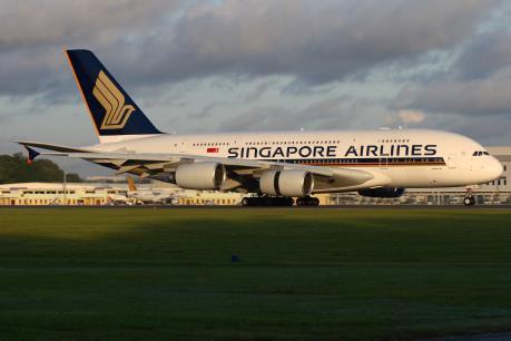 Lợi nhuận ròng của Singapore Airlines tăng hơn 180%