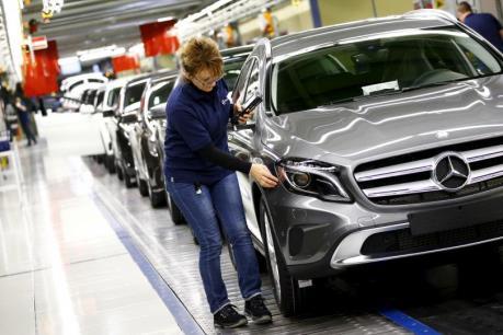 Đức: Sản lượng công nghiệp tháng Sáu phục hồi